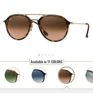Ray ban sunglasses!! pilot shape, tortoise color